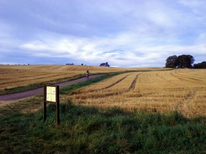 Cycle on Bredon Hill